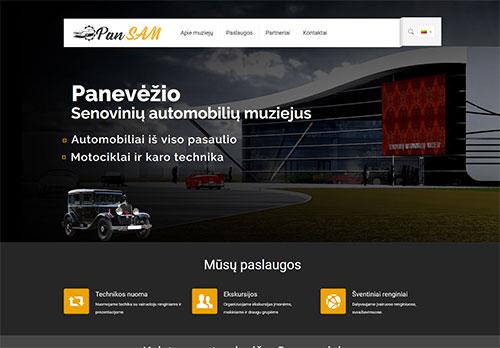 Interneto svetainiu kurimas Panevezyje